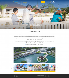 interior page design on the topic Tourism — The site of the luxury resort Ocean Village Deluxe 5