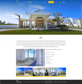 interior page design on the topic Tourism — The site of the luxury resort Ocean Village Deluxe 7