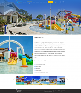 interior page design on the topic Tourism — The site of the luxury resort Ocean Village Deluxe 9