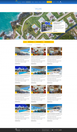 interior page design on the topic Tourism — The site of the luxury resort Ocean Village Deluxe 20