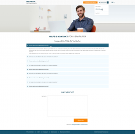 interior page design on the topic Business and company — Feedback Platform Bestseller-rezensionen 41