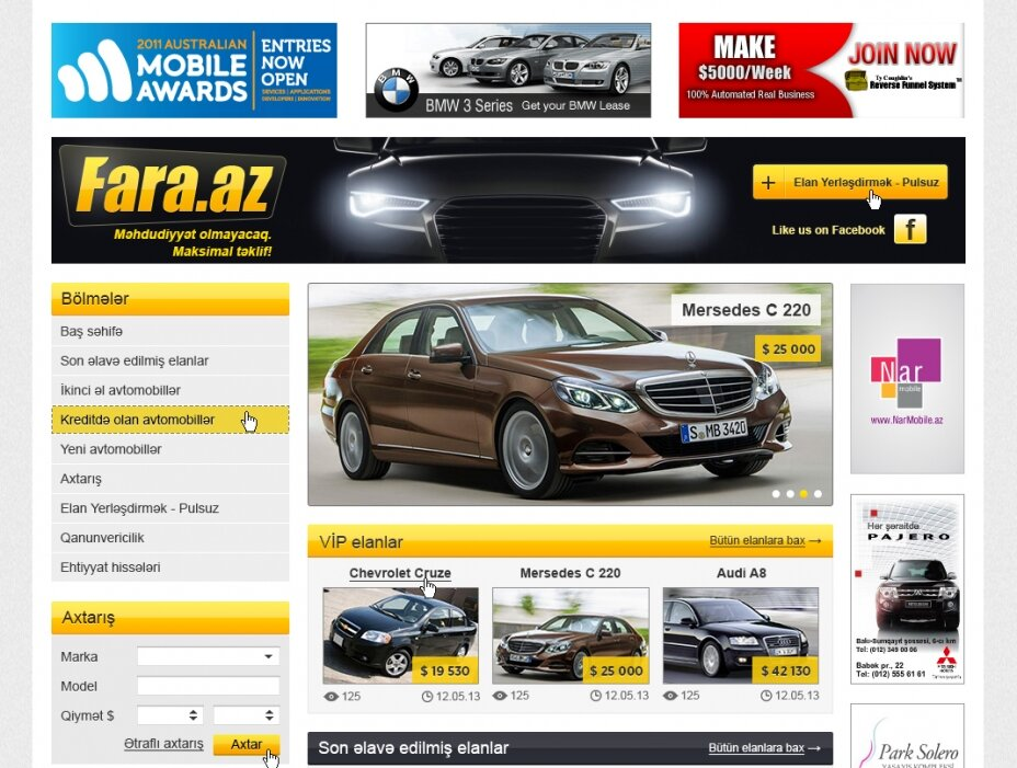 free ads for car sales